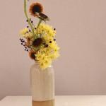 Ikebana ispirato ai girasoli di Van Gogh