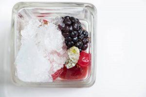 Frutti rossi granita Franciacorta
