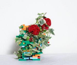 Creare il vaso con il lego