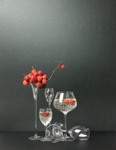 Ikebana ispirato ai lavori di Giuseppe Carta