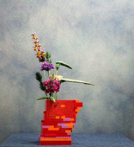 Ikebana di lego