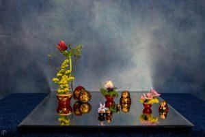 Ikebana in miniatura